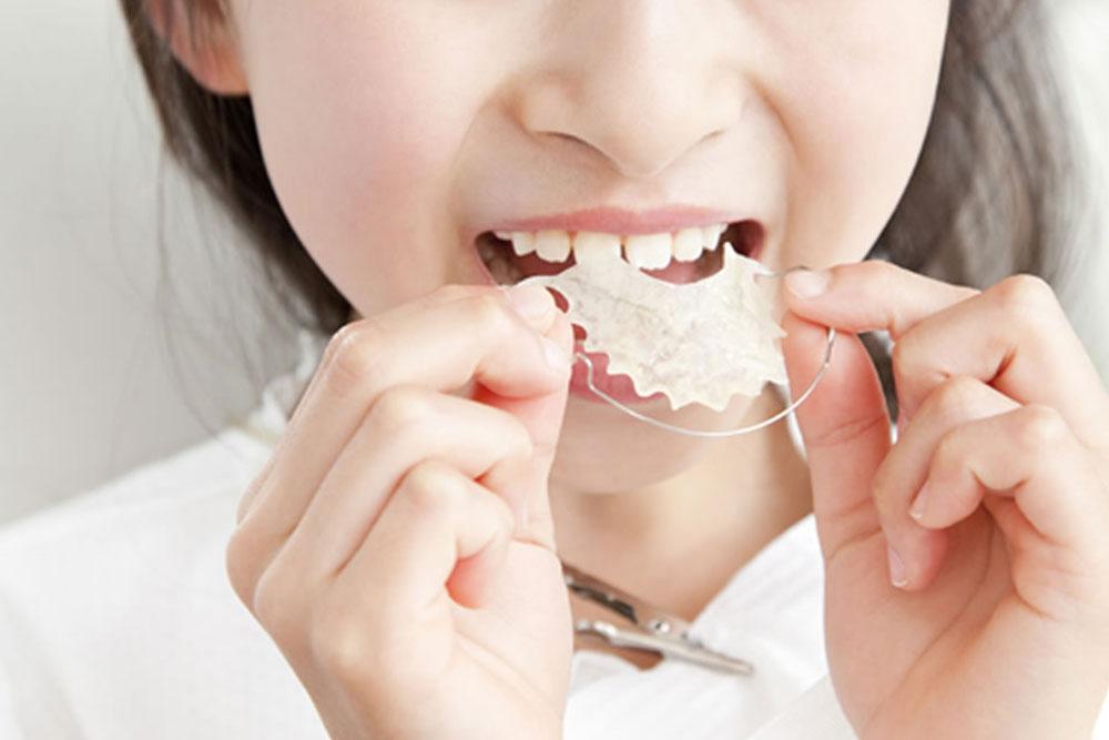 歯並び悪化の防止